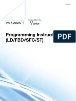 Nv Series v Series Programming Instructions (LD FBD SFC ST)