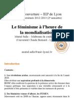Féminisme mondialisation