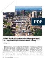 Article on 'Road Asset Valuation and Management' by Chaitanya Raj Goyal