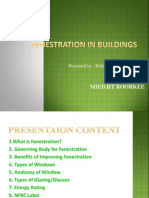 Fenestration in buildings