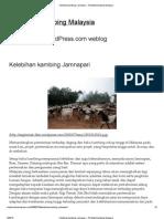 Kelebihan kambing Jamnapari « Pembekal kambing Malaysia
