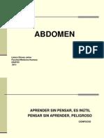 TOPOGRAFÍA GENERAL ABDOMEN