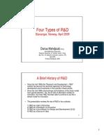 Presentation Four Types of R&D Darius