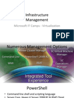 Infrastructure - 3 - Management