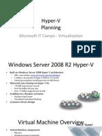 Hyper-V - 1 - Planning