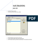 SAP TRAINING.doc