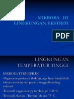 5 Mikroba Lingk Ekstrim