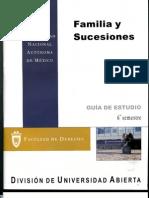 1616. Familia y Sucesiones (guía de estudios)
