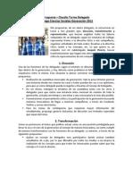 Programa Claudio Torres - Delegado College CCSS Generación 2012