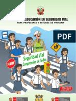 Guia de Educación Vial para  primaria