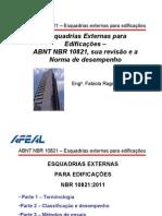 AFEAL E A NBR 1082 PALESTRA TÉCNICA