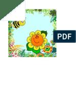 Background Bunga n Lebah