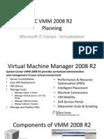 SC VMM 2008 R2 - 1 - Planning