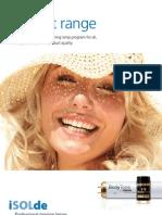 iSOLde Product Range GB