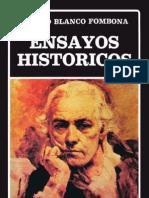 Ensayos_historicos. Rufino Blanco Fombona