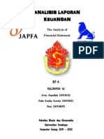 analisis laporan keuangan  JAPFA dan CPIN