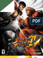 Street Fighter 4 Manual