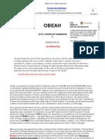 OBEAH_ Afro-Caribbean Shamanism