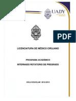 INTERNADO ROTATORIO PREGRADO