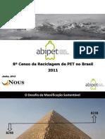 Oitavo Censo Da Reciclagem Do PET No Brasil