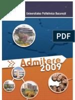 Ghid admitere la Universitatea Politehnica din Bucuresti