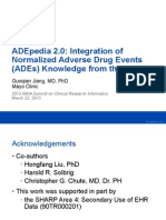 ADEpedia 2.0-Integration of Normalized Adverse Drug Events (ADEs)