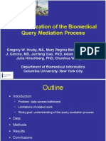 Characterization of the Biomedical Mediation Process