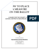 20110822_ Sacramento County Guide for Local Government Ballot Measures