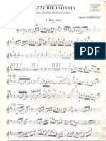Fuzzy Bird Sonate Sax