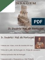 FP - A Mensagem Poema D. Duarte Rei de Portugal