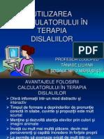 Utilizarea Calculatorului in Terapia
