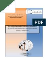 DEC Guia de Procedimientos Para La Auditoria Del Sistema de Certificacion Profesional de Las Entidades Certificadoras