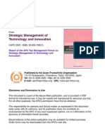 strategic management technology and innovation