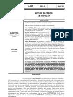 N-0313D - MOTOR ELÉTRICO DE INDUÇÃO
