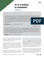 Tipos de Estudio en El Enfoque de Investigacion Cuantitativa