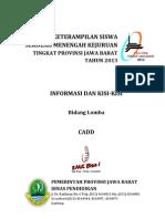 Info & Kisi-Kisi CADD