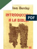 William Barclay Introduccion a La Biblia