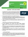 Beschluss a-1 Resolution Atomenergie
