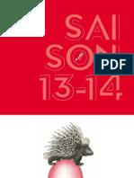 Brochure de de l'Opéra Comique - Saison 2013 -2014