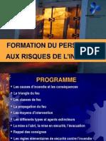 Formation incendie des Personnels hospitaliers - procedure evacuation.ppt