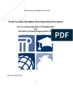 DPI - NC - CEDARS - USDDC - Discipline-reporting-procedures