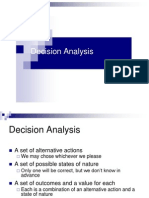 1.Decision Analysis