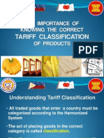 6 - Importance of Knowing the Right Tariff Code of Your Product