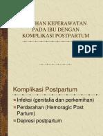 Komplikasi Postpartum