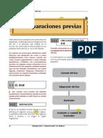 4 Definicion y Organizacion Del Bar