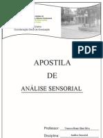 Apostila Análise Sensorial 2013