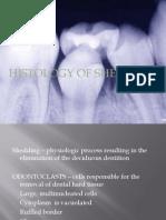 Histology of Shedding