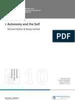 10 k Hler - Autonomy and the Self