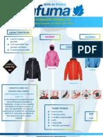 Lafuma Chaqueta Skyrace Jacket Goretex Paclite Nota Prensa Oficial 9abr13