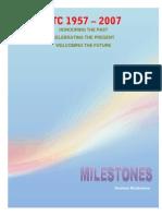 ATC Presentation & Milestones 1957-2007